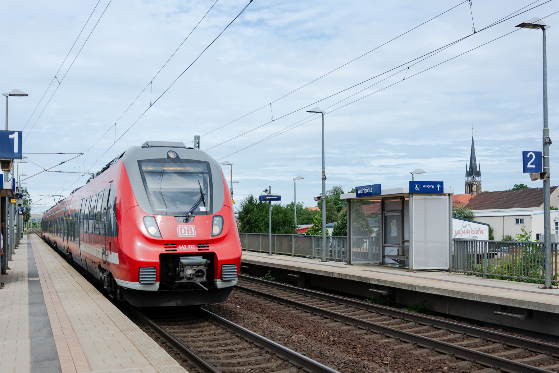 DB-Haltepunkt Weinböhla